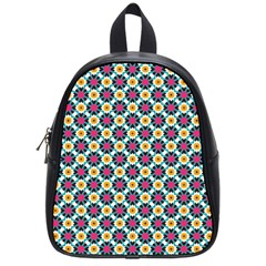 Cute Abstract Pattern Background School Bags (small)  by creativemom