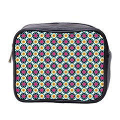 Cute Abstract Pattern Background Mini Toiletries Bag 2 Side by creativemom
