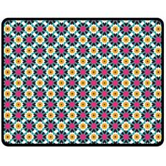 Cute Abstract Pattern Background Fleece Blanket (medium)  by creativemom
