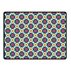 Cute Abstract Pattern Background Fleece Blanket (small) by creativemom