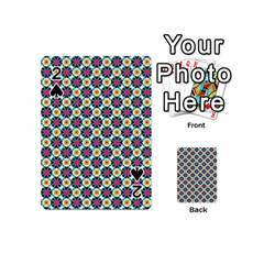 Cute Abstract Pattern Background Playing Cards 54 (mini)