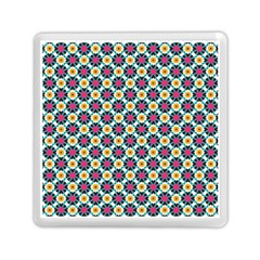 Cute Abstract Pattern Background Memory Card Reader (square)  by creativemom