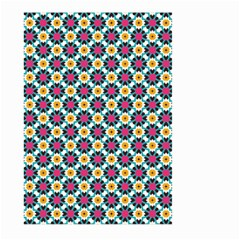 Cute Abstract Pattern Background Large Garden Flag (two Sides) by creativemom