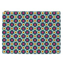 Cute Abstract Pattern Background Cosmetic Bag (xxl)  by creativemom