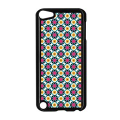 Cute Abstract Pattern Background Apple Ipod Touch 5 Case (black) by creativemom