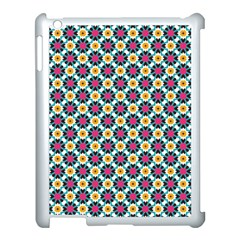 Cute Abstract Pattern Background Apple Ipad 3/4 Case (white) by creativemom