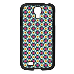 Cute Abstract Pattern Background Samsung Galaxy S4 I9500/ I9505 Case (black) by creativemom