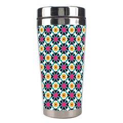 Cute Abstract Pattern Background Stainless Steel Travel Tumblers by creativemom