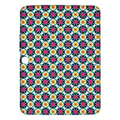 Cute Abstract Pattern Background Samsung Galaxy Tab 3 (10 1 ) P5200 Hardshell Case  by creativemom