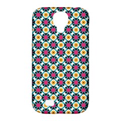 Cute Abstract Pattern Background Samsung Galaxy S4 Classic Hardshell Case (pc+silicone) by creativemom