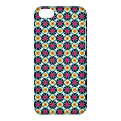 Cute Abstract Pattern Background Apple Iphone 5c Hardshell Case by creativemom