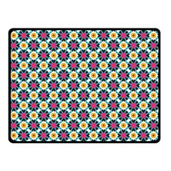 Cute Abstract Pattern Background Double Sided Fleece Blanket (small)  by creativemom