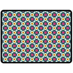 Cute Abstract Pattern Background Double Sided Fleece Blanket (large)  by creativemom