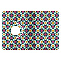 Cute Abstract Pattern Background Kindle Fire Hdx Flip 360 Case by creativemom
