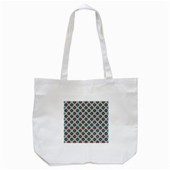Cute Abstract Pattern Background Tote Bag (white)  by creativemom