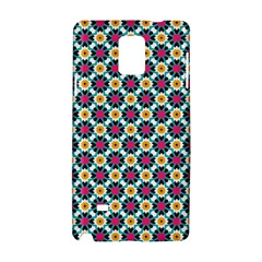 Cute Abstract Pattern Background Samsung Galaxy Note 4 Hardshell Case by creativemom