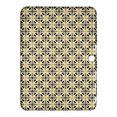 Cute Pretty Elegant Pattern Samsung Galaxy Tab 4 (10 1 ) Hardshell Case