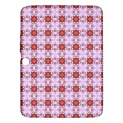 Cute Pretty Elegant Pattern Samsung Galaxy Tab 3 (10.1 ) P5200 Hardshell Case  by creativemom