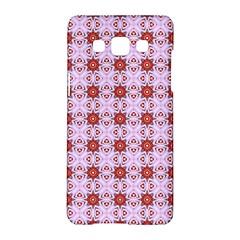 Cute Pretty Elegant Pattern Samsung Galaxy A5 Hardshell Case  by creativemom