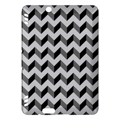 Modern Retro Chevron Patchwork Pattern  Kindle Fire Hdx Hardshell Case by creativemom