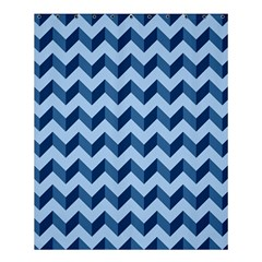 Modern Retro Chevron Patchwork Pattern Shower Curtain 60  X 72  (medium)  by creativemom