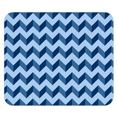 Modern Retro Chevron Patchwork Pattern Double Sided Flano Blanket (small)  by creativemom