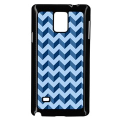 Modern Retro Chevron Patchwork Pattern Samsung Galaxy Note 4 Case (black) by creativemom