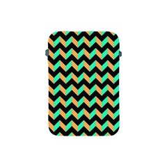 Modern Retro Chevron Patchwork Pattern Apple Ipad Mini Protective Soft Cases by creativemom