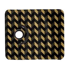 Modern Retro Chevron Patchwork Pattern Samsung Galaxy S  Iii Flip 360 Case by creativemom