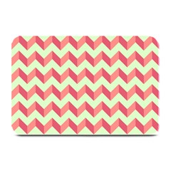 Modern Retro Chevron Patchwork Pattern Plate Mats by creativemom