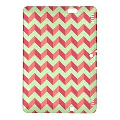 Modern Retro Chevron Patchwork Pattern Kindle Fire Hdx 8 9  Hardshell Case by creativemom