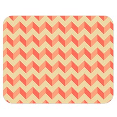 Modern Retro Chevron Patchwork Pattern Double Sided Flano Blanket (medium)