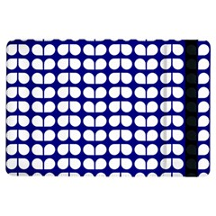 Blue And White Leaf Pattern Ipad Air Flip by creativemom
