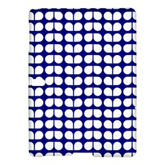 Blue And White Leaf Pattern Samsung Galaxy Tab S (10.5 ) Hardshell Case  by creativemom