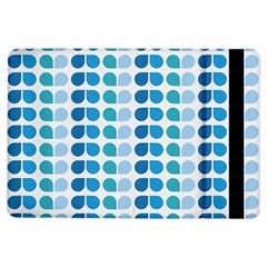 Blue Green Leaf Pattern iPad Air Flip by creativemom