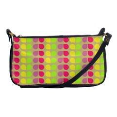 Colorful Leaf Pattern Shoulder Clutch Bags by creativemom