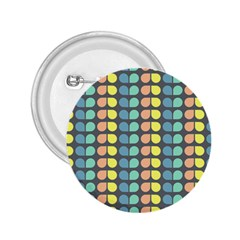 Colorful Leaf Pattern 2 25  Buttons by creativemom