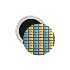 Colorful Leaf Pattern 1 75  Magnets by creativemom