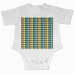 Colorful Leaf Pattern Infant Creepers by creativemom