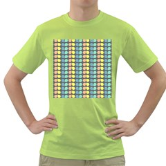 Colorful Leaf Pattern Green T-Shirt by creativemom
