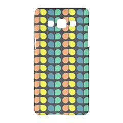 Colorful Leaf Pattern Samsung Galaxy A5 Hardshell Case  by creativemom