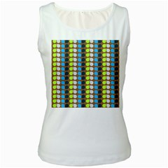 Colorful Leaf Pattern Women s Tank Tops by creativemom