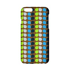 Colorful Leaf Pattern Apple Iphone 6 Hardshell Case by creativemom