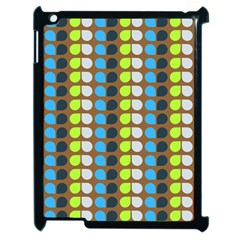Colorful Leaf Pattern Apple Ipad 2 Case (black) by creativemom