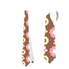 Cute Floral Pattern Neckties (two Side)  by creativemom