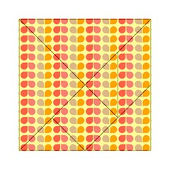 Colorful Leaf Pattern Acrylic Tangram Puzzle (6  X 6 ) by creativemom