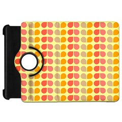 Colorful Leaf Pattern Kindle Fire Hd Flip 360 Case by creativemom