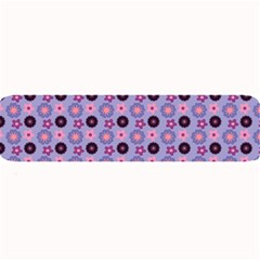 Cute Floral Pattern Large Bar Mats by creativemom