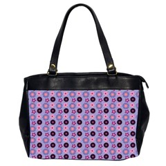 Cute Floral Pattern Office Handbags (2 Sides)  by creativemom