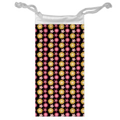 Cute Floral Pattern Jewelry Bags by creativemom